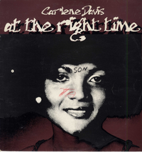 CARLENE DAVIS-at the right time