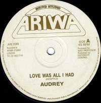 AUDREY-love is all i had