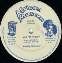 FREDDY McGREGOR-yes i'm ready