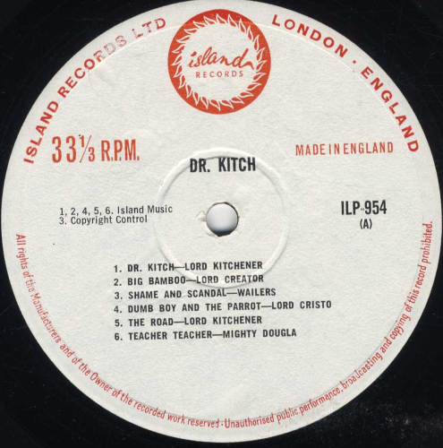 Various Dr Kitch