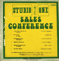 VARIOUS-sales conference (silk screen cover)