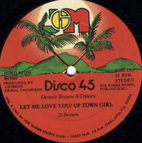 DENNIS BROWN & TRINITY-let me love you