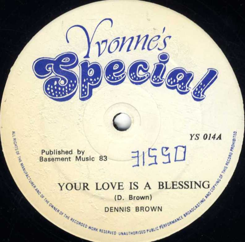DENNIS BROWN-your love is a blessing