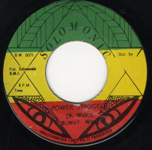 BUNNY WAILER-power struggle