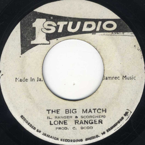 LONE RANGER-the big match