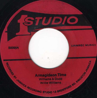 WILLIE WILLIAMS-armagideon time