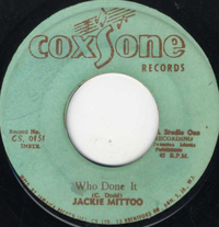 JACKIE MITTOO-who done it