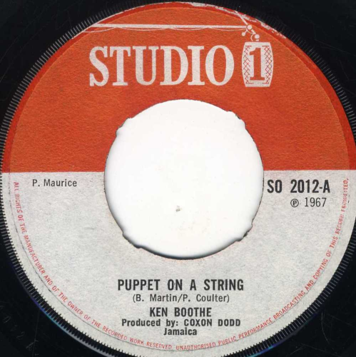 KEN BOOTHE-puppet on a string