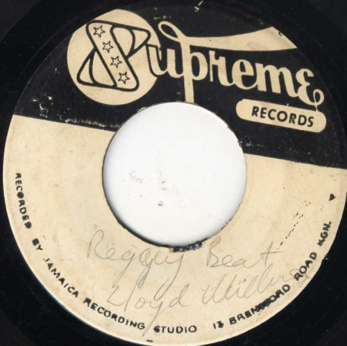 LLOYD WILLIAMS-reggae feet