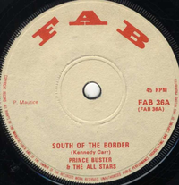 PRINCE BUSTER-south of the border