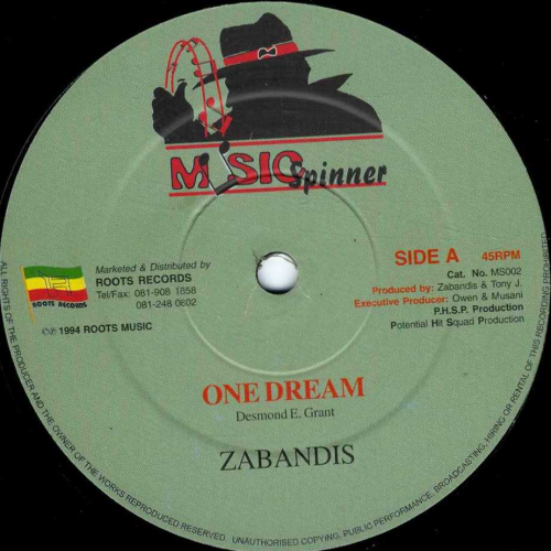 ZABANDIS-one dream