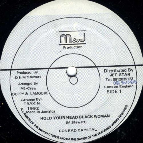 CONRAD CRYSTAL-hold your head black woman