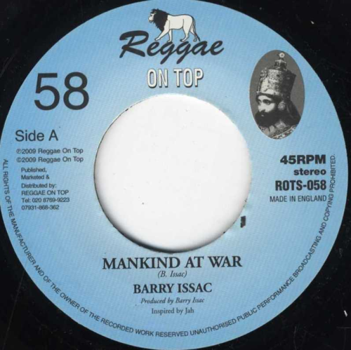 BARRY ISSAC-mankind at war
