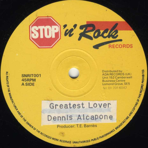 DENNIS ALCAPONE-greatest lover