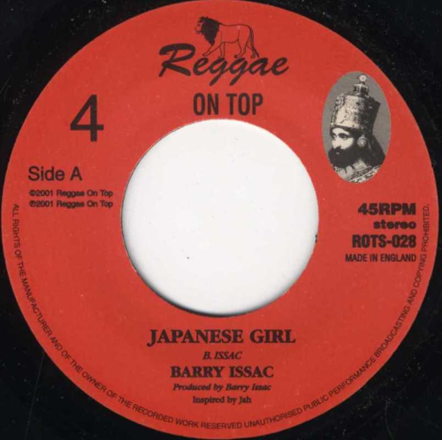 BARRY ISSAC-japanese girl