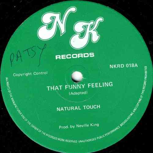 NATURAL TOUCH-that funny feeling
