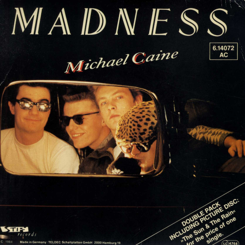 "MADNESS-michael caine (German copy, double 7"" set)"
