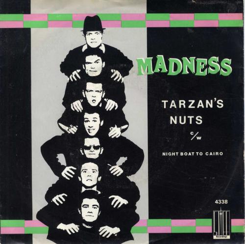 Madness Tarzan S Nuts Dutch Copy Shm Records