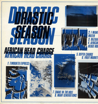 AFRICAN HEAD CHARGE-drastic season
