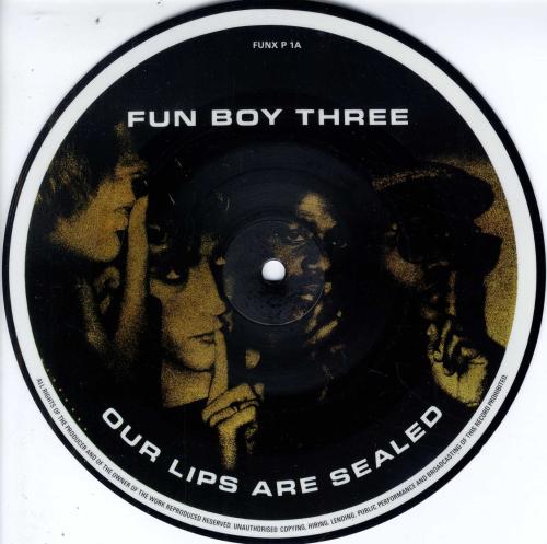 Fun Boy Three Our Lips Are Sealed Shm Records