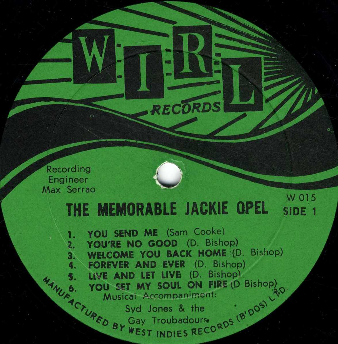 Jackie Opel Tears From My Eyes Youre No Good