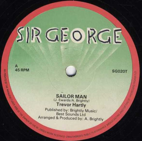 TREVOR HARTLEY-sailor man