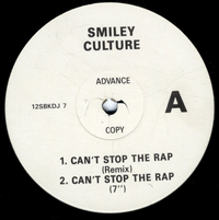 SMILEY CULTURE-can't stop the rap