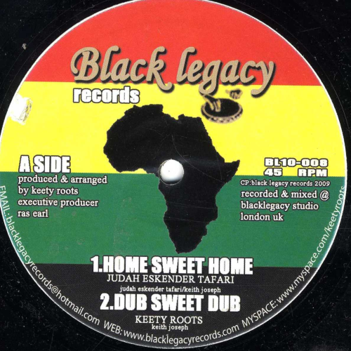 JUDAH ESKENDER TAFARI-home sweet home