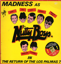 MADNESS-the return of the los palmas 7 (with comic)