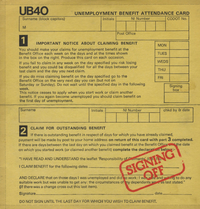 "UB40-signing off (with 12"" single)"