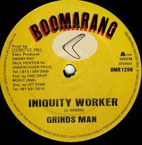 GRINDS MAN-iniquity worker