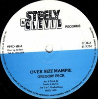 GREGORY PECK-over size mampie