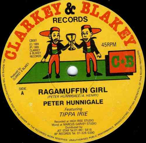 PETER HUNNIGALE & TIPPA IRIE-ragamiffin girl