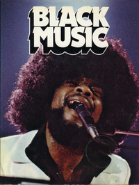 BLACK MUSIC  magazine book