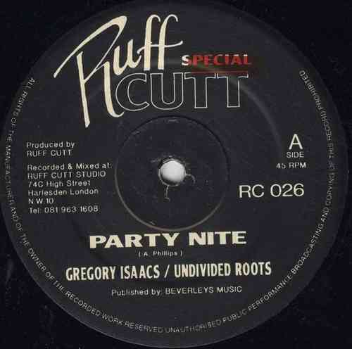 GREGORY ISAACS-party nite