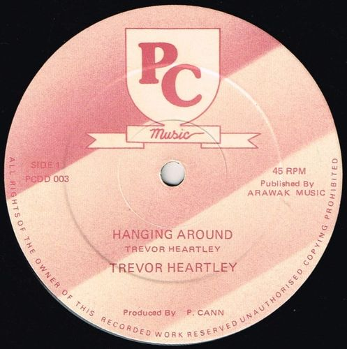 TREVOR HARTLEY-hanging around