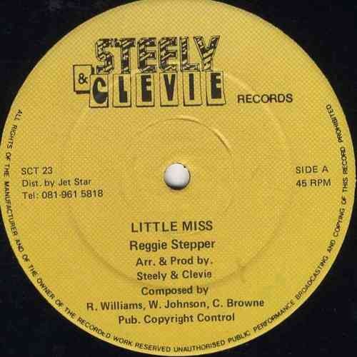 REGGIE STEPPER-little miss