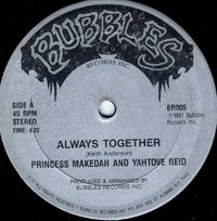 PRINCESS MAKEDAH & YAHTOVE REID-always together