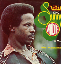 KING SUNNY ADE-the message