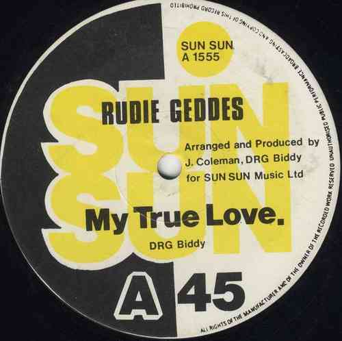RUDIE GEDDES-my true love