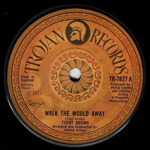 TEDDY BROWN-walk the world away