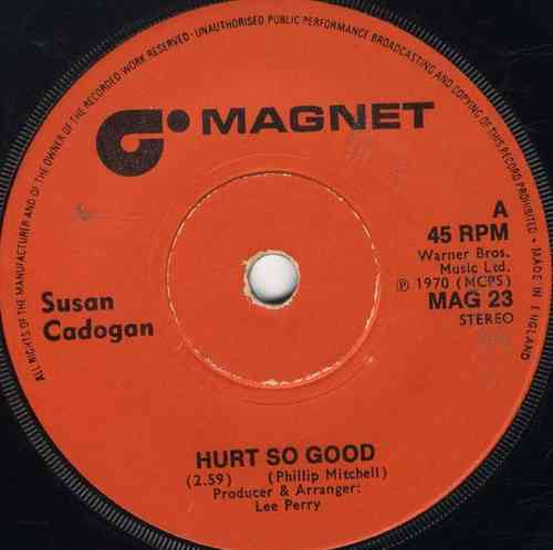 SUSAN CADOGAN-hurt so good