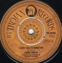 ERNIE SMITH-i love you to want me