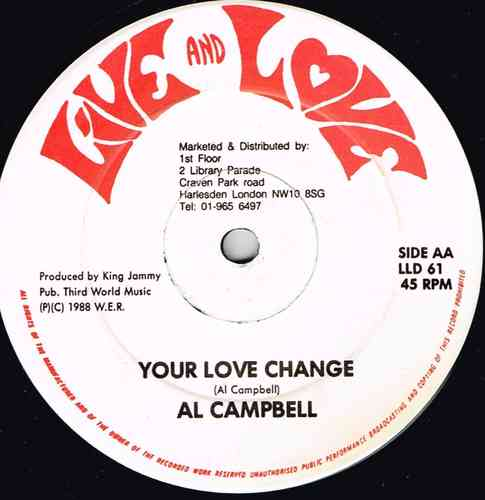AL CAMPBELL-your love change