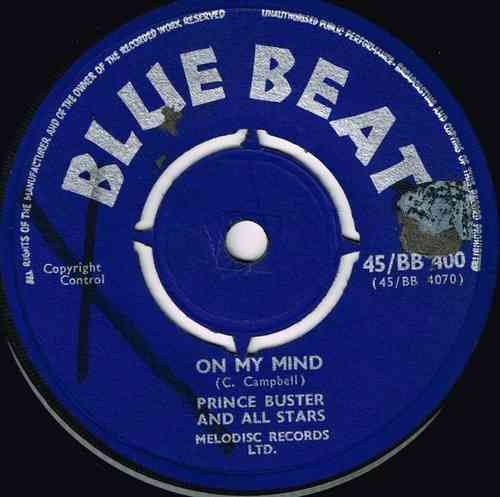 PRINCE BUSTER-on my mind