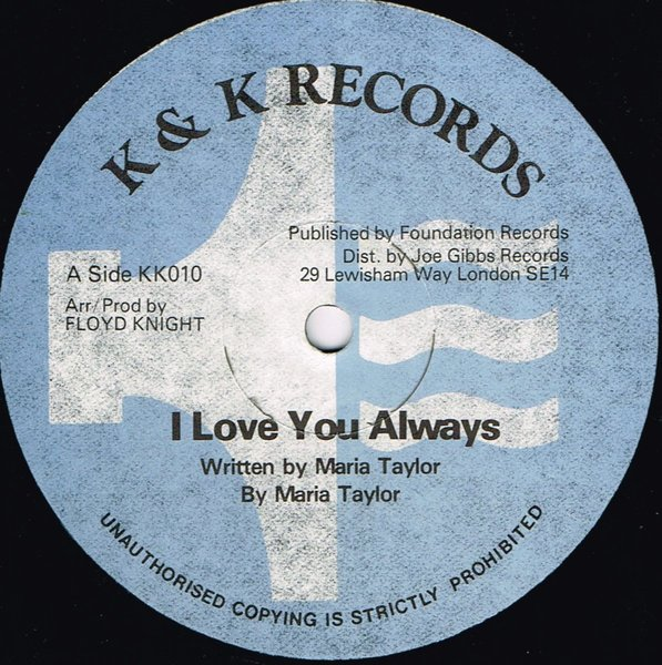 Maria Taylor I Love You Always Shm Records