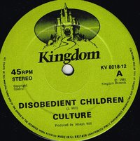 CULTURE-disobedient children