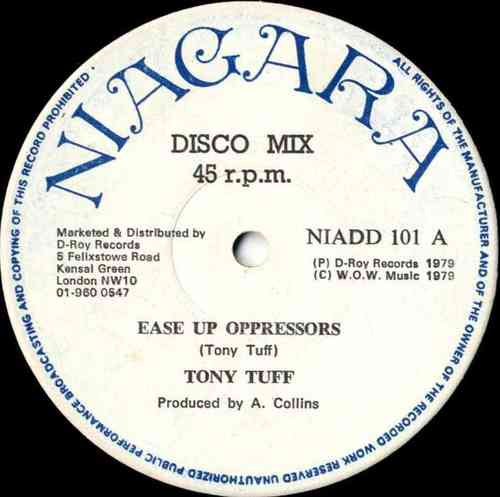 TONY TUFF-ease up oppressors