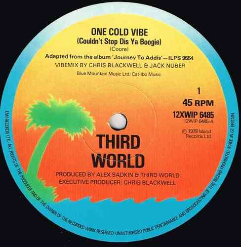 THIRD WORLD-one cold vibe