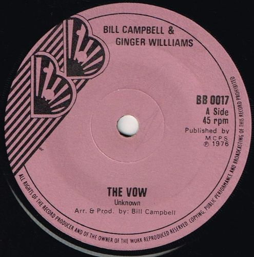 BILL CAMPBELL & GINGER WILLIAMS-the vow